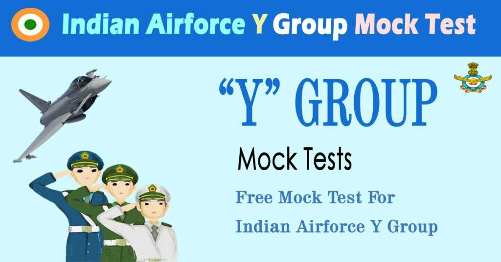 airforce y group mock test