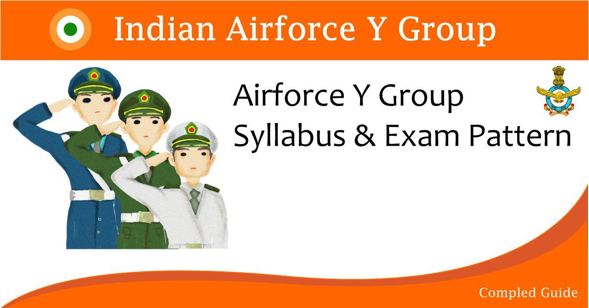 airforce-y-group-syllabus